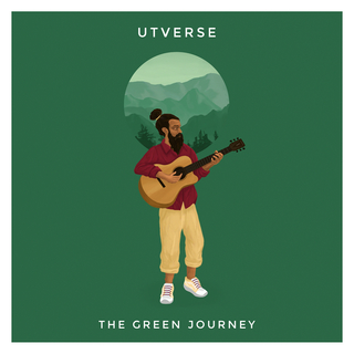 "Album Cover ""The Green Journey"" for UT.verse"